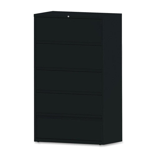 Lorell Receding Lateral File with Roll Out Shelves ; UPC: 035255435178