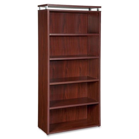 Lorell Five-shelf Bookcase for Ascent and Concordia Series ; UPC: 035255687225