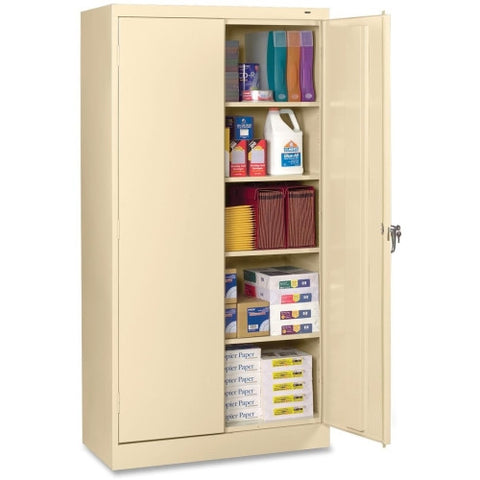 Tennsco 7224 Standard Storage Cabinet TNN7224PY, Putty (UPC:044767114082)