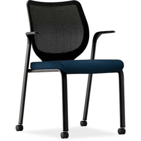 HON Iliria-stretch M4 Multipurpose Stacking Chair HONN606NT90, Blue (UPC:641128433129)