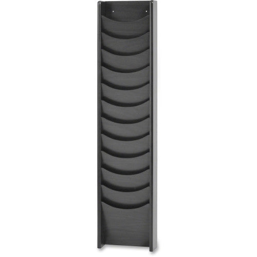 Buddy Literature Rack BDY6124, Black (UPC:025719061241)