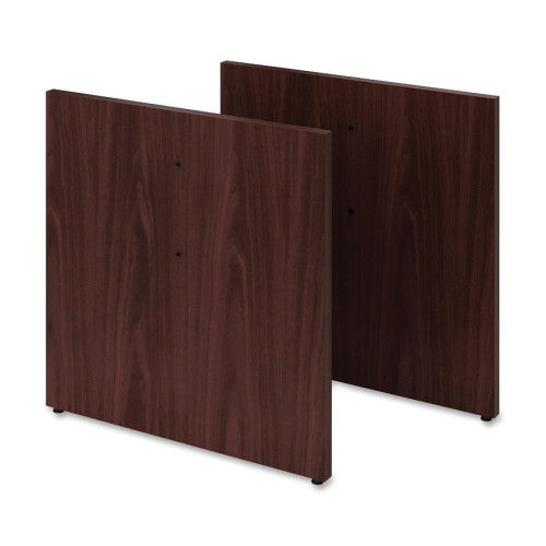 HON Preside HTLPB Conference Table Panel Base (Double Pack) HONTLPBN, Mahogany (UPC:089192133284)