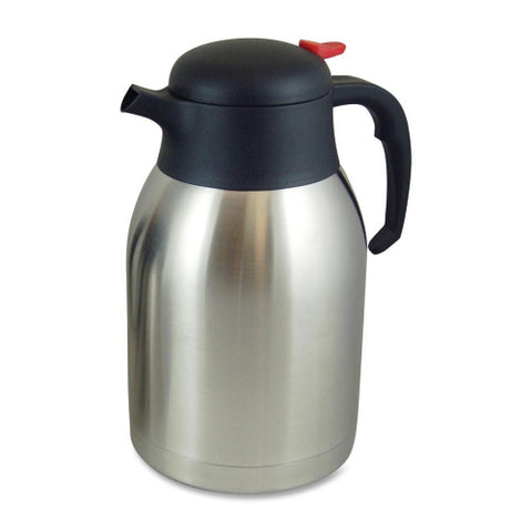 Genuine Joe 2 Liter Everyday Double Wall Vacuum Carafe ; UPC: 035255119566 ; MPN: GJO11956
