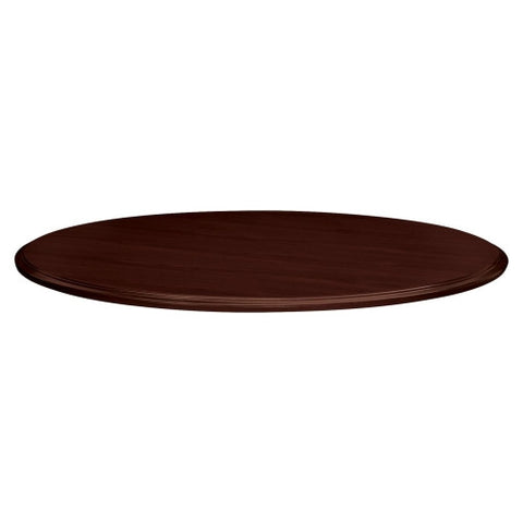 HON Preside Series Round Conference Tabletop HONTLD48TNNN, Mahogany (UPC:782986298786)
