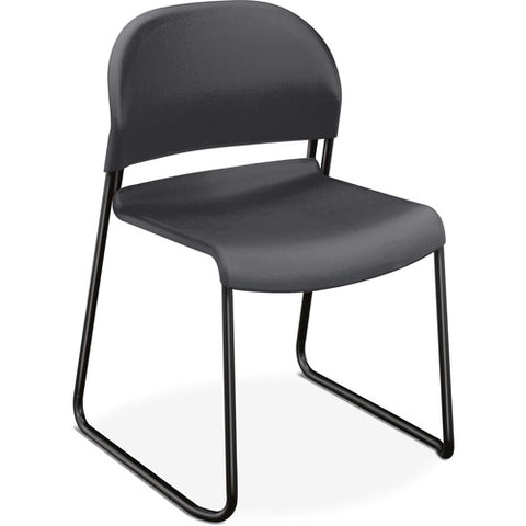 HON GuestStacker High-Density Stacking Chair | Lava Shell | 4 per Carton ; UPC: 791579239815 ; Image 3