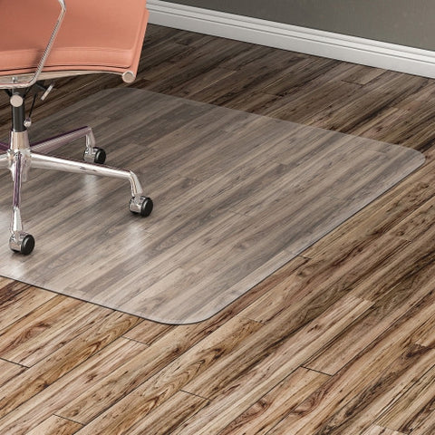 Lorell Nonstudded Design Hardwood Surface Chairmat ; UPC: 035255828253