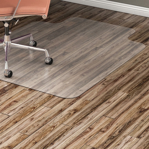 Lorell Nonstudded Design Hardwood Surface Chairmat ; UPC: 035255828260