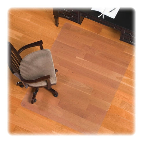 "ES Robbins Hard Floor Rectangle, 46"" x 60"", Intermediate Chair Mat ; UPC: 012544323316"