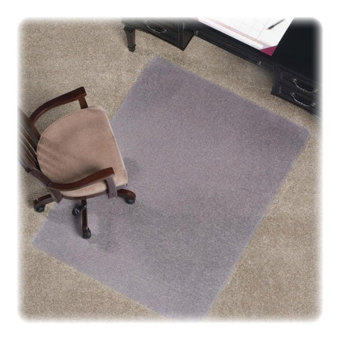 "ES Robbins AnchorBar Rectangle, 46"" x 60"", Standard Chair Mat for Medium Pile Carpets ; UPC:  012544223814"