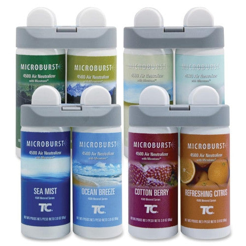 Rubbermaid 3486092 Microburst Duet Variety Pack (1 of ea. refill) ; (086876207330)