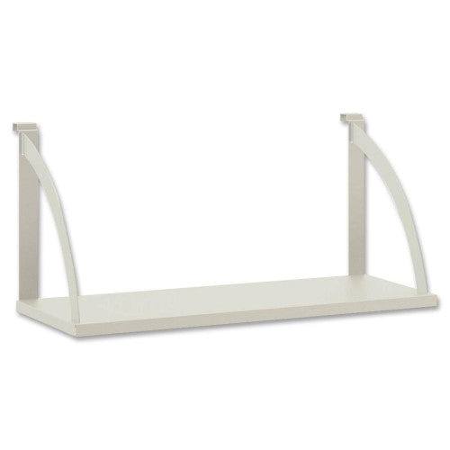 HON Partition Mounted Shelves BSXVSH24GYGY, Gray (UPC:791579065698)