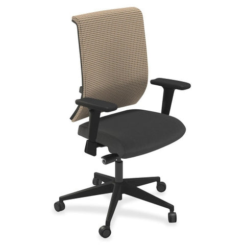 Mayline Commute Series Fully Upholstered Task Chair MLNC1BU2OJTELT, Black (UPC:760771283261)