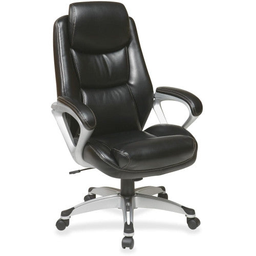 Lorell Executive Leather high-back Chair ; UPC: 035255521208