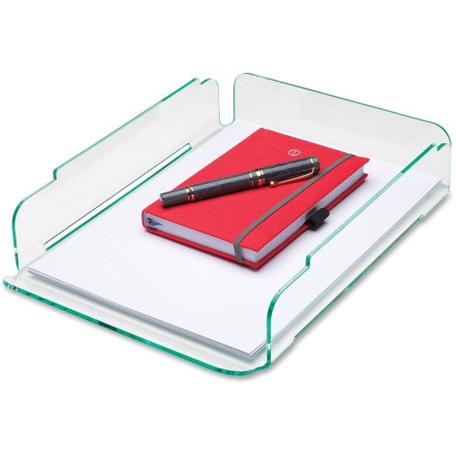 Lorell Single Stacking Letter Tray ; UPC: 035255806541