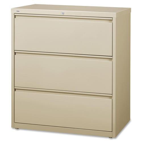 Lorell 3-Drawer Putty Lateral Files LLR88027 ; UPC: 035255880275