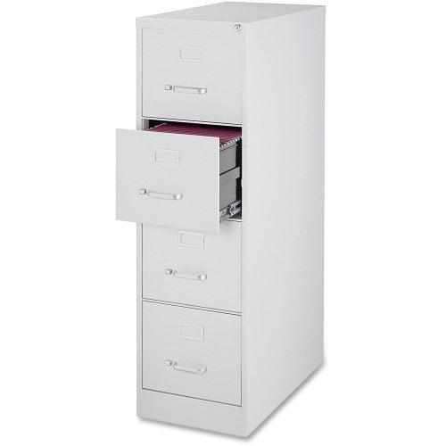Lorell Fortress Series 28.5'' Letter-size Vertical Files LLR88038, Gray (UPC:035255880381)