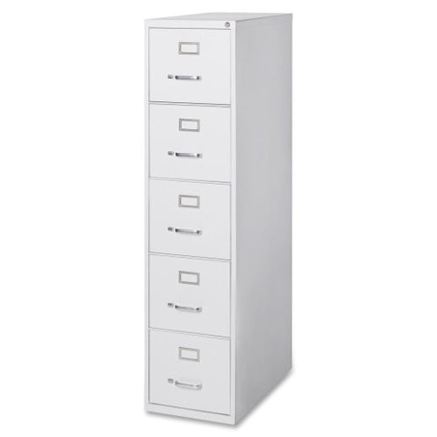 Lorell Commercial Grade 28.5'' Letter-size Vertical Files LLR88041, Gray (UPC:035255880411)