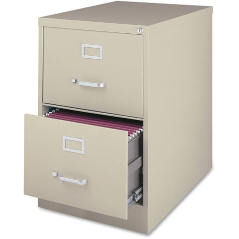 Lorell Commercial Grade 28.5'' Legal-size Vertical Files LLR88042, Putty (UPC:035255880428)
