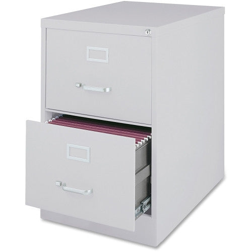 Lorell Commercial Grade 28.5'' Legal-size Vertical Files LLR88044, Gray (UPC:035255880442)