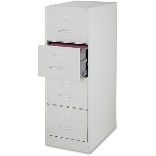 Lorell Commercial Grade 28.5'' Legal-size Vertical Files LLR88047, Gray (UPC:035255880473)