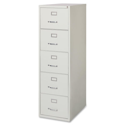 Lorell Commercial Grade 28.5'' Legal-size Vertical Files LLR88050, Gray (UPC:035255880503)