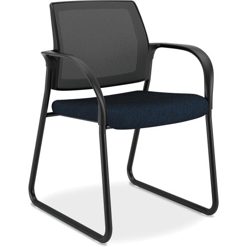 HON Ignition Mesh Back Multi-Purpose Guest Chair ; Color: Mariner; UPC: 035349190358