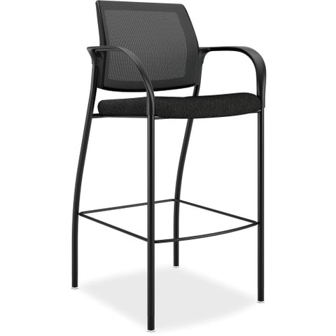 HON Mesh Back Cafe Height Stools HONIC108NT10, Black (UPC:881728509415)