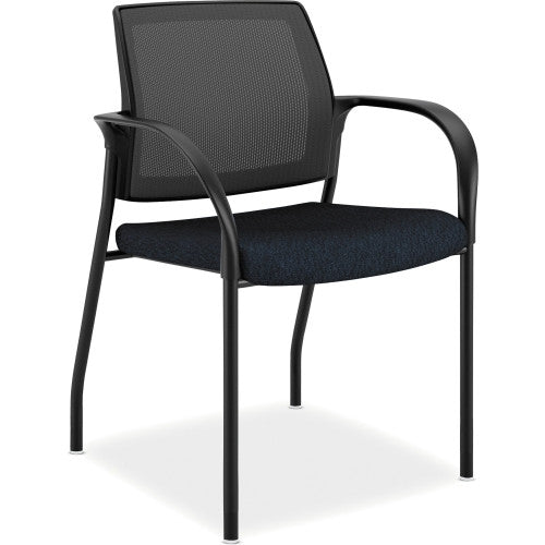 HON Mesh Back Multipurpose Stacking Chairs HONIS108NT90, Blue (UPC:035349042923)