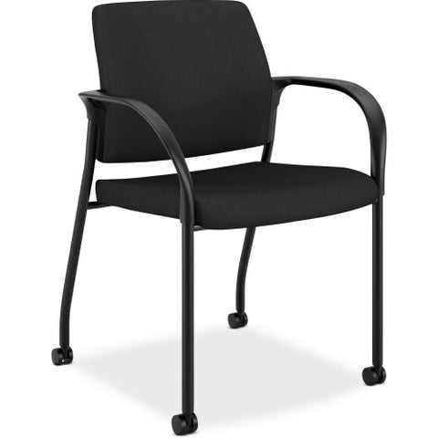 HON Ignition Multi-Purpose Stacking Chair ; Color: Black; UPC: 035349042985
