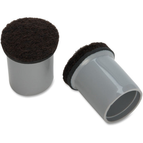 Lorell Replacement Chair Tips with Felt ; UPC: 035255423236