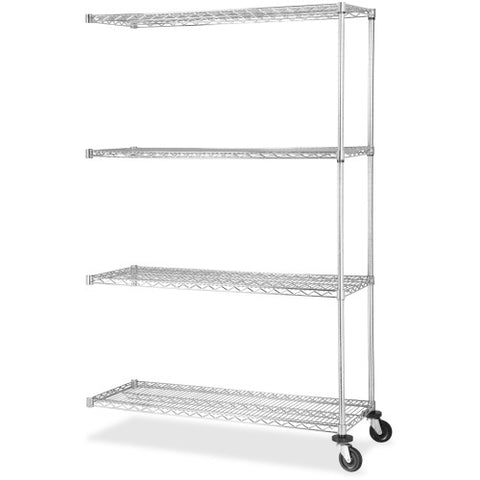 Lorell Industrial Wire Shelving Add-on Unit ; UPC: 035255841856