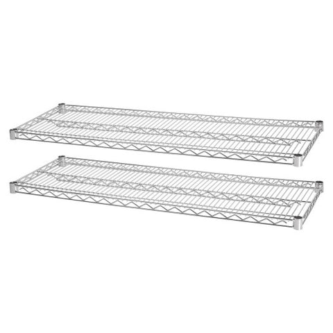 Lorell Indust Wire Shelving Starter Extra Shelves ; UPC: 035255841832