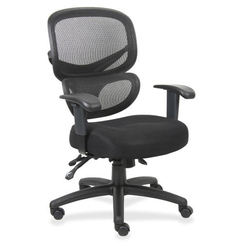 Lorell Mesh-Back Fabric Executive Chairs ; UPC: 035255606226