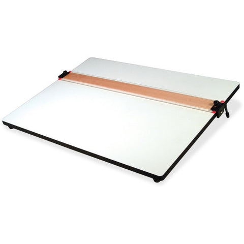 Helix Parallel Straight Edge Drawing Board HLX37179, White (UPC:079252371794)