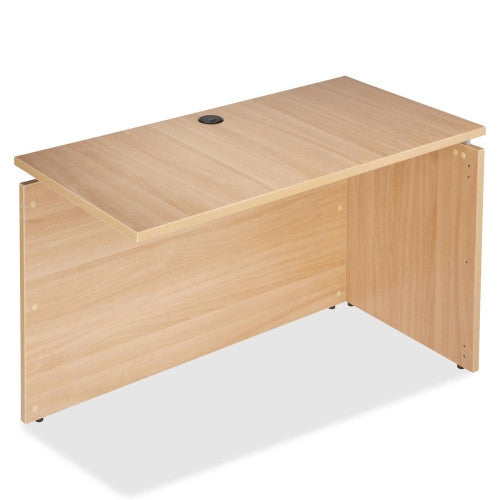 Lorell Concordia Series Latte Laminate Desk Ensemble ; UPC: 035255819428