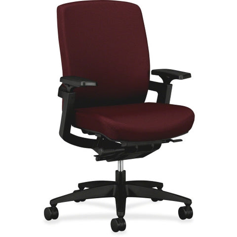 HON F3 Ergonomic Mid-Back Work Chairs HONFW04NT69, Red (UPC:089191884064)