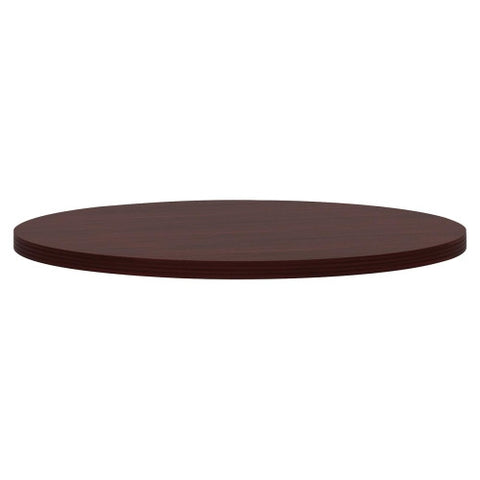 HON Preside Cafe/Commons Round Tabletop HONTLD42KNNN, Mahogany (UPC:631530648877)