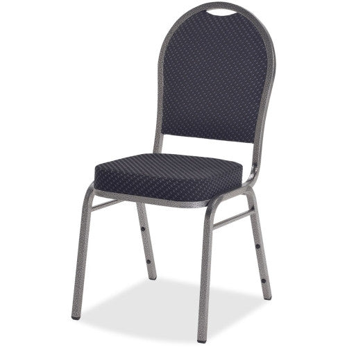 Lorell Upholstered Cushion Stacking Chairs ; UPC: 035255625180