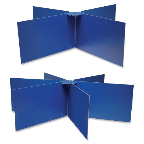 Pacon Round Table Privacy Boards PAC3788, Blue (UPC:045173037880)
