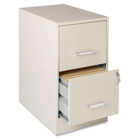 "Lorell SOHO 22"" 2-Drawer File Cabinet LLR16870, Gray (UPC:029404168703)"