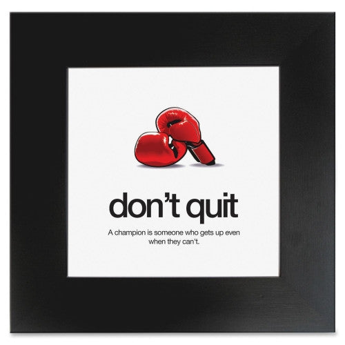 Aurora Prod. Don't Quit Poster ; (032138228292); Color:Black