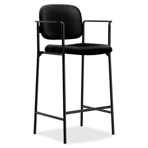 basyx by HON HVL636 Cafe-Height Stool BSXVL636VA10, Black (UPC:020459935203)