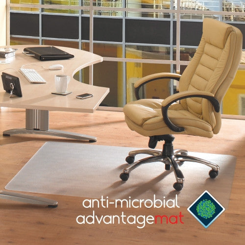Floortex Advantagemat Hard Floor Chair Mat FLRAB1213420EV, Clear (UPC:874951001337)