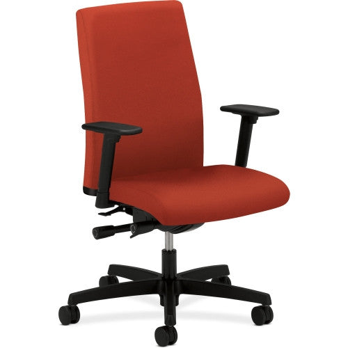 HON Ignition Mid-Back Task Chair HONIW104CU42, Red (UPC:782986972853)
