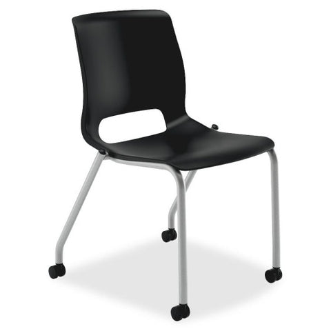 HON Motivate Stacking Chair HONMG101ON, Red (UPC:791579817815)
