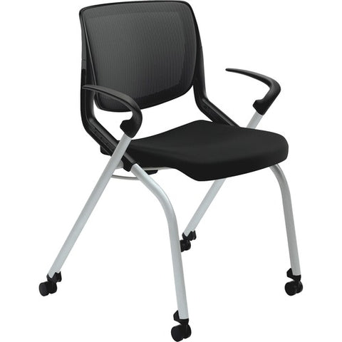 HON Motivate Nesting Stacking Chair HONMN212ONCU10, Black (UPC:035349187266)