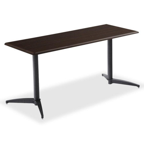 Iceberg OfficeWorks Rectangular Conference Tabletop ICE65062, Walnut (UPC:674785650622)
