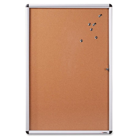 Lorell Enclosed Cork Bulletin Board ; UPC: 035255427067