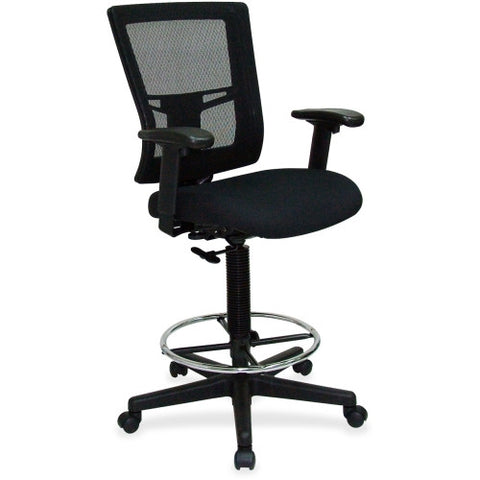 Lorell Breathable Mesh Drafting Stool ; UPC: 035255431002