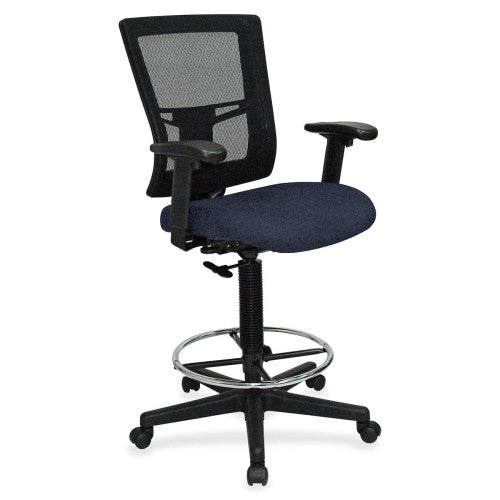 Lorell Breathable Mesh Drafting Stool ; UPC: 035255431118
